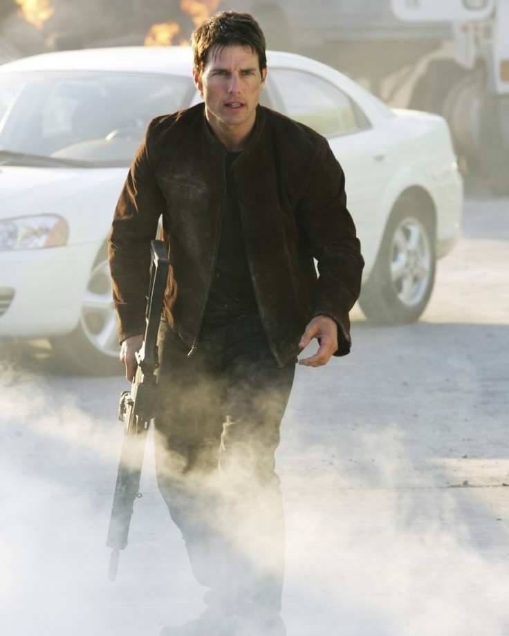 Tom Cruise in Mission: Impossible III (2006) by J.J. Abrams.