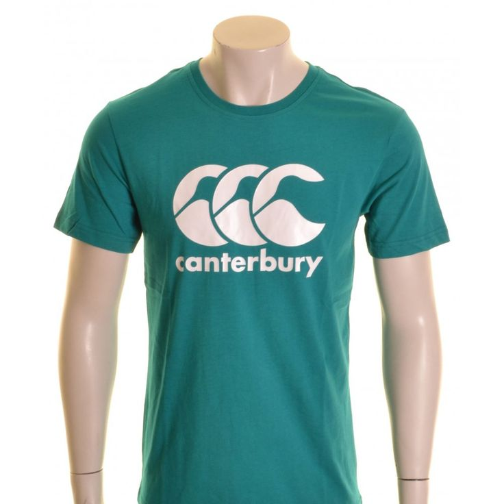 Canterbury CCC Logo T-Shirt Blue Grass and White - £16.00 at ShopRugby.com #Rugby #Canterbury