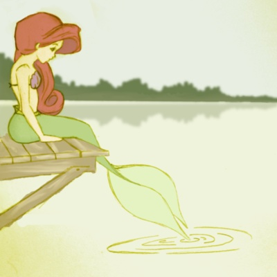 but a mermaid has no tears and therefore she suffers so much more.    - hans christian anderson