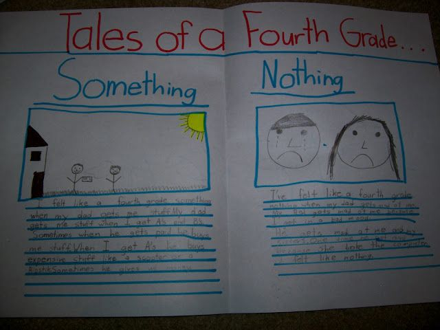 tales of a fourth grade nothing  something for after reading the novel