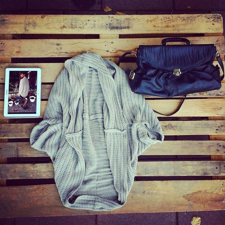 #Cardigan grigio #oversize taglia unica 38 euro!