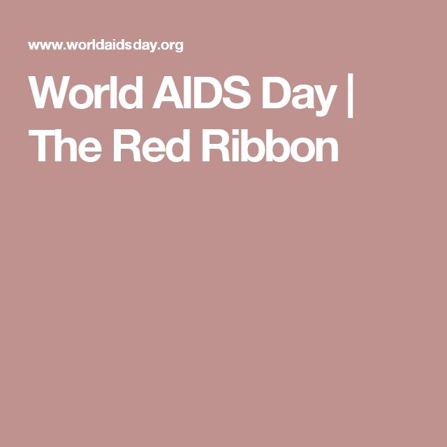 World AIDS Day | The Red Ribbon