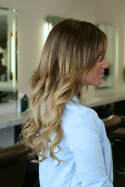 Light Pink Hair Tips Blondes