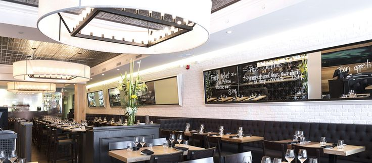 LEMAYMICHAUD | CHEZ BOULAY | Québec | Architecture | Design | Restaurant | Eatery | Hospitality | Lighting | Mirrors | Whiteboard | Seating