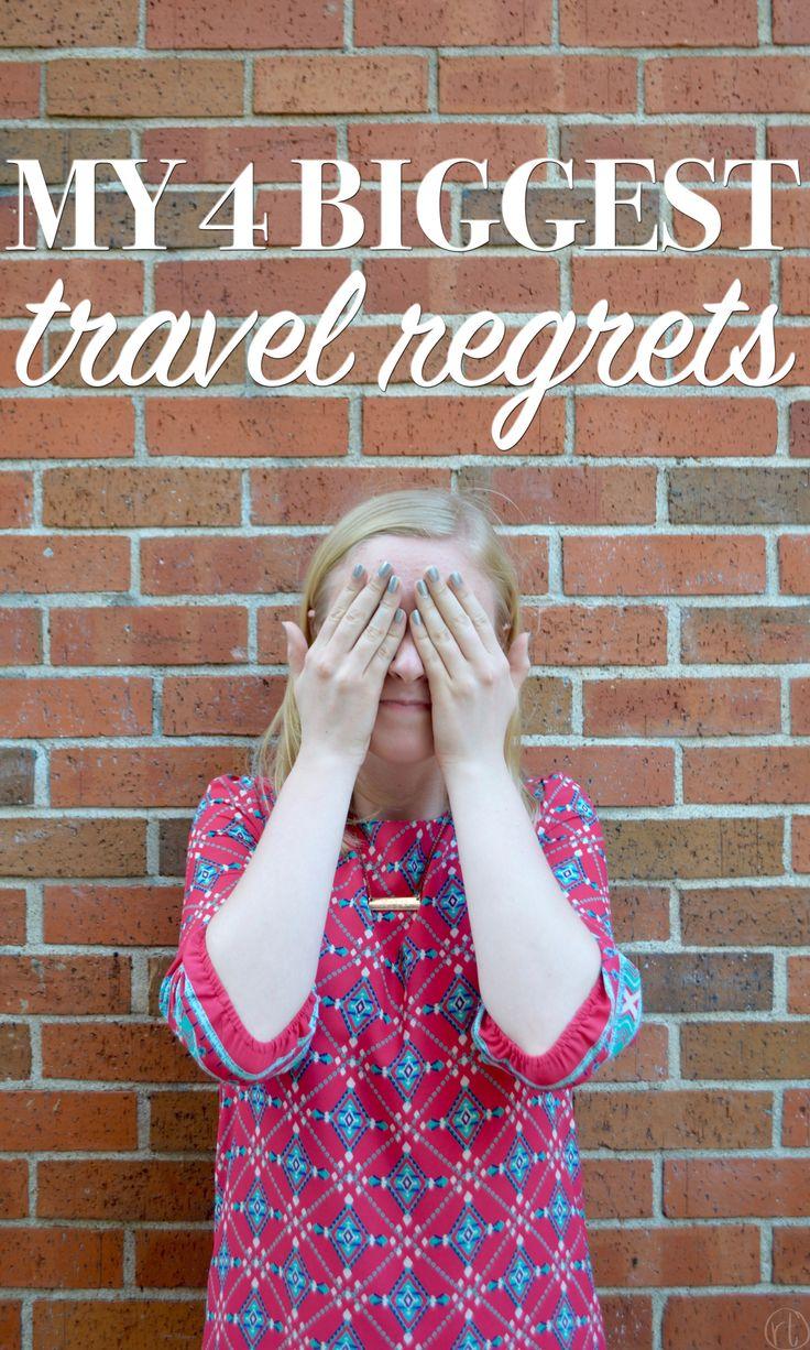 My Biggest Travel Regrets by Round Trip Travel
