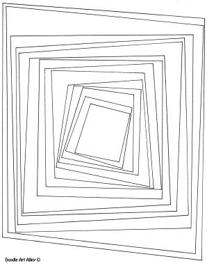area and perimeter measure coloring page Area and