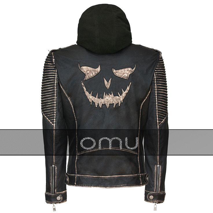 Order now this elegant Suicide Squad Joker jacket and get discount on it. The Killing Joker jacket is design with real leather and eye catching Joke-o-lantern design at the back. Get this joker leather jacket now and add new outfit in your fashion style.