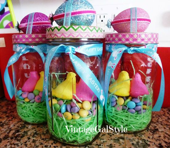 33 best images about happy easter on pinterest for Mason jar easter ideas