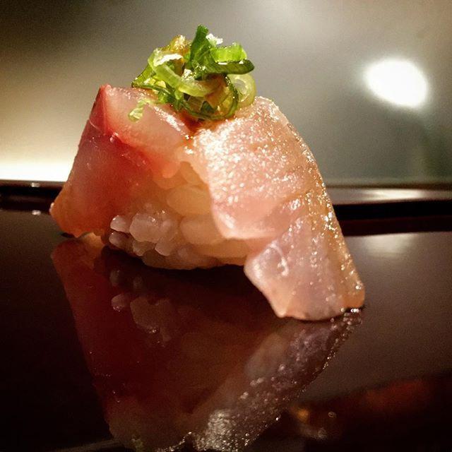 Aji (horse mackerel) from kagoshima Japan @ NAKAJIMA Tokyo, at Jado sushi.