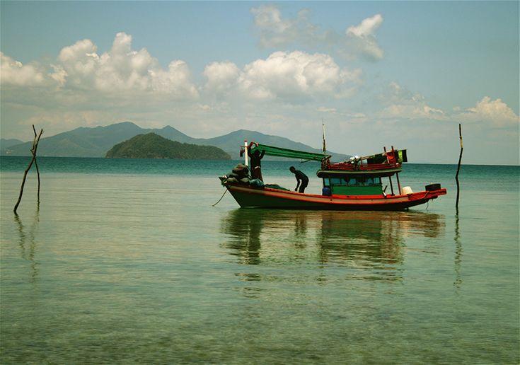 Sailing Gulf of Thailand - Ko Chang, Koh Mak