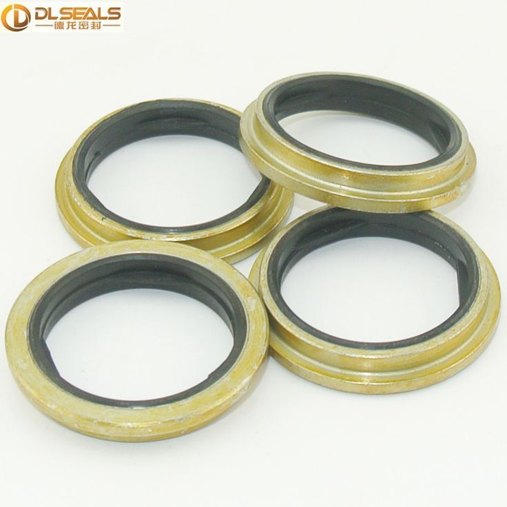 Carbon Steel NBR FKM Hydraulic Cylinder Articulated Joint Sealing Dowty Washer Bonded Gasket Seals