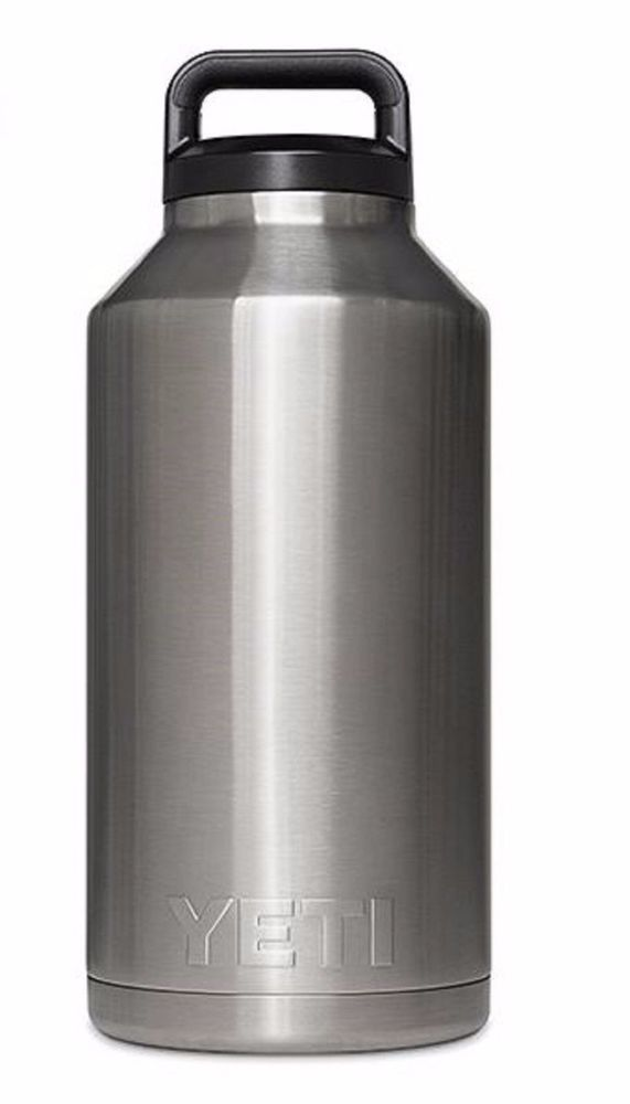 Yeti 18 oz Rambler Bottle Coolers Stainless Steel  #Unbranded