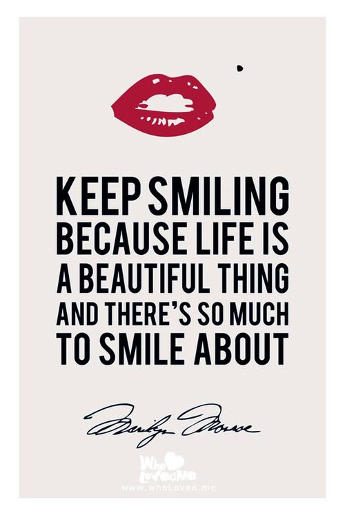 you have a beautiful smile quotes - photo #28