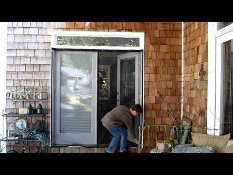 17 best ideas about french door screens on pinterest for French door mosquito screen