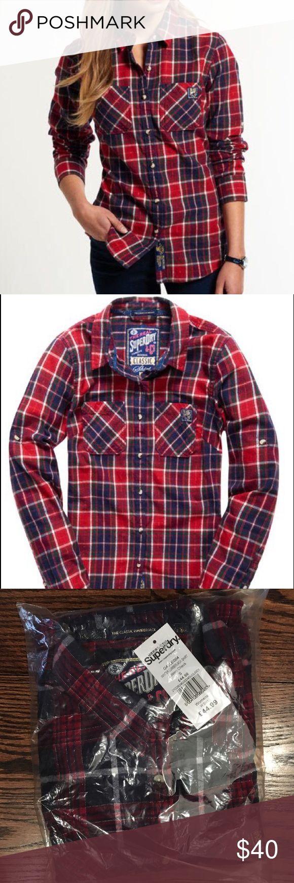 Winter LumberJack Flannel Super dry winter lumberjack flannel Superdry Tops Button Down Shirts