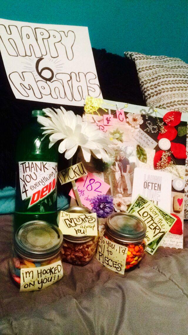 6 months gift for boyfriend