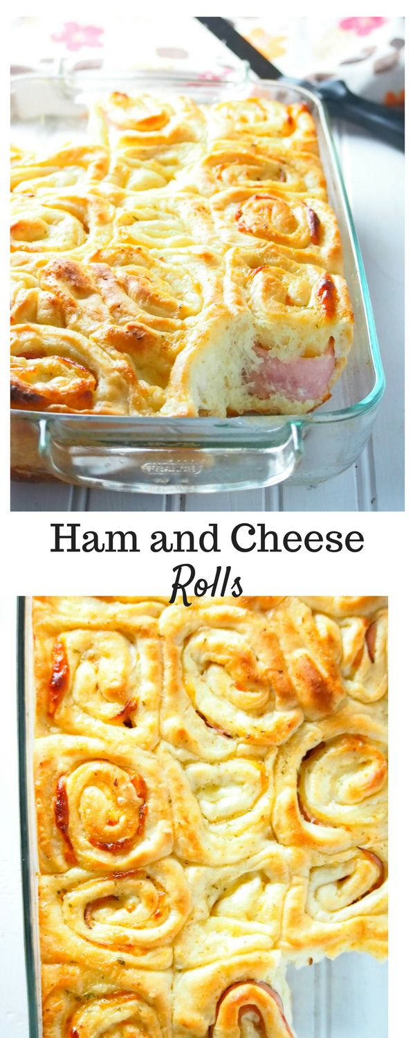 These are like ham and cheese sliders but fancier. Enjoy these ham and cheese rolls that are soft, tasty and very filling.