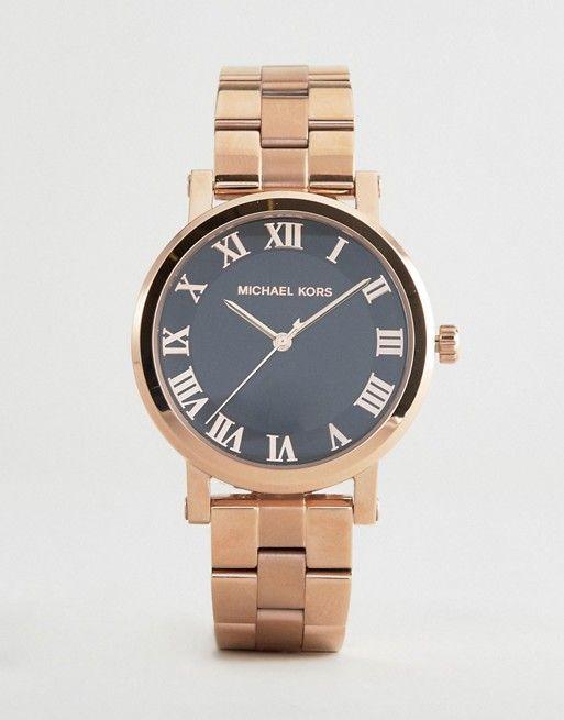 Michael Kors Norie Rose Gold Watch