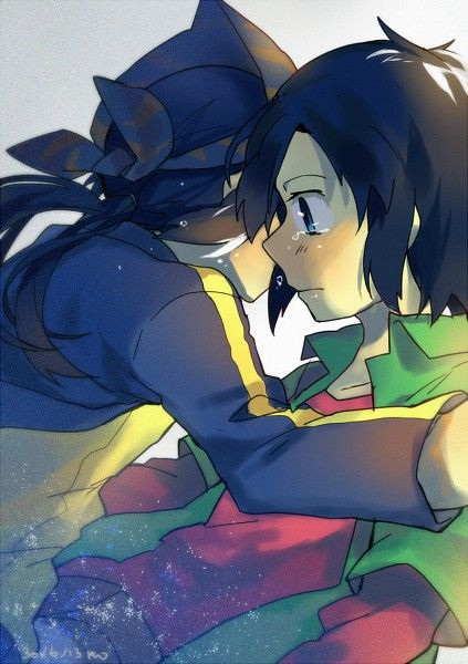 Brotherly love. This gives me way too many feels- (kouji and kouichi, digimon frontier)