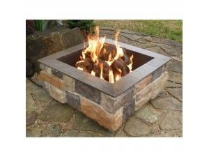 outdoor fire pitFire Pits, Nature Gas, Gas Firepit, Outdoor Fire Pit, Fire Pit Design, Outdoor Fireplaces, Summer Night, Outdoor Area, Backyards