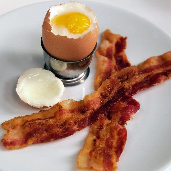 Bacon And Eggs | Dorm Room Food Hacks Part 88
