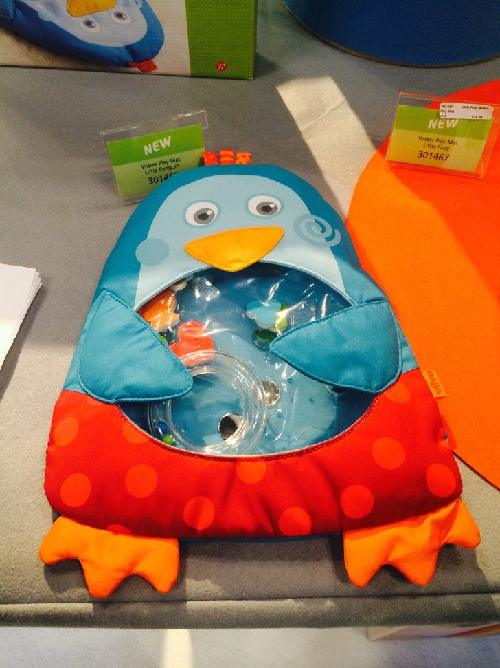 Pin for Later: Here's Your Peek Into 200+ Toys That Will Hit Store Shelves Later This Year Haba Penguin Water Mat Haga is introducing a few new water mats, including this adorable penguin.