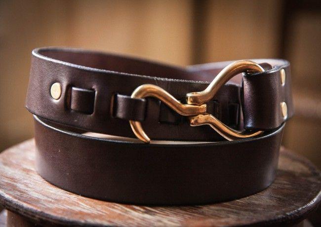 Pelikan Hook Belt men leather