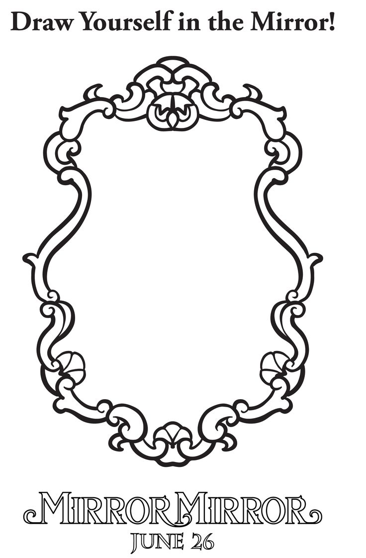 Download free coloring pages from MIRROR MIRROR http po
