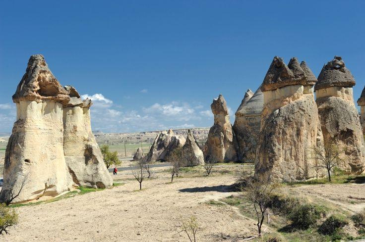 I camini delle fate in Cappadocia (Turchia)  The Fireplace Fairies in Turkey