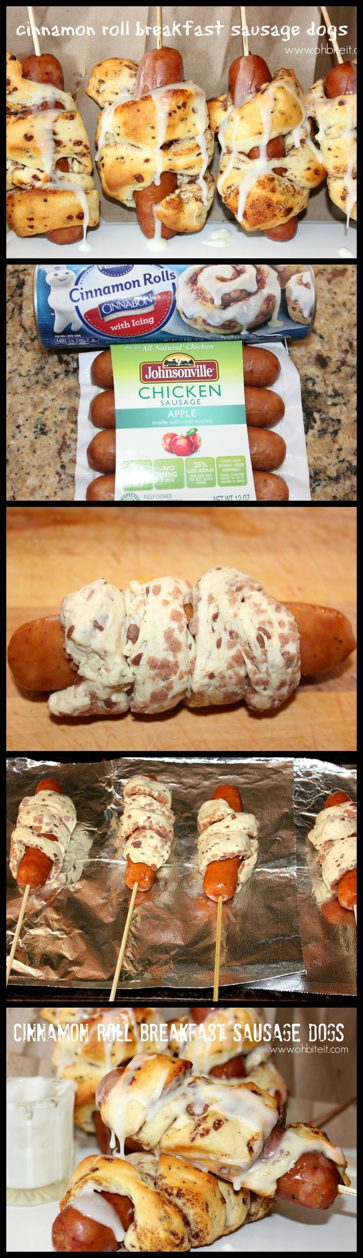 ~Cinnamon Roll Breakfast Sausage Dogs!