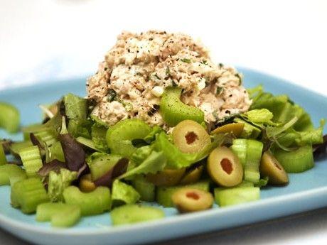 Tonfiskröra med grönsaker