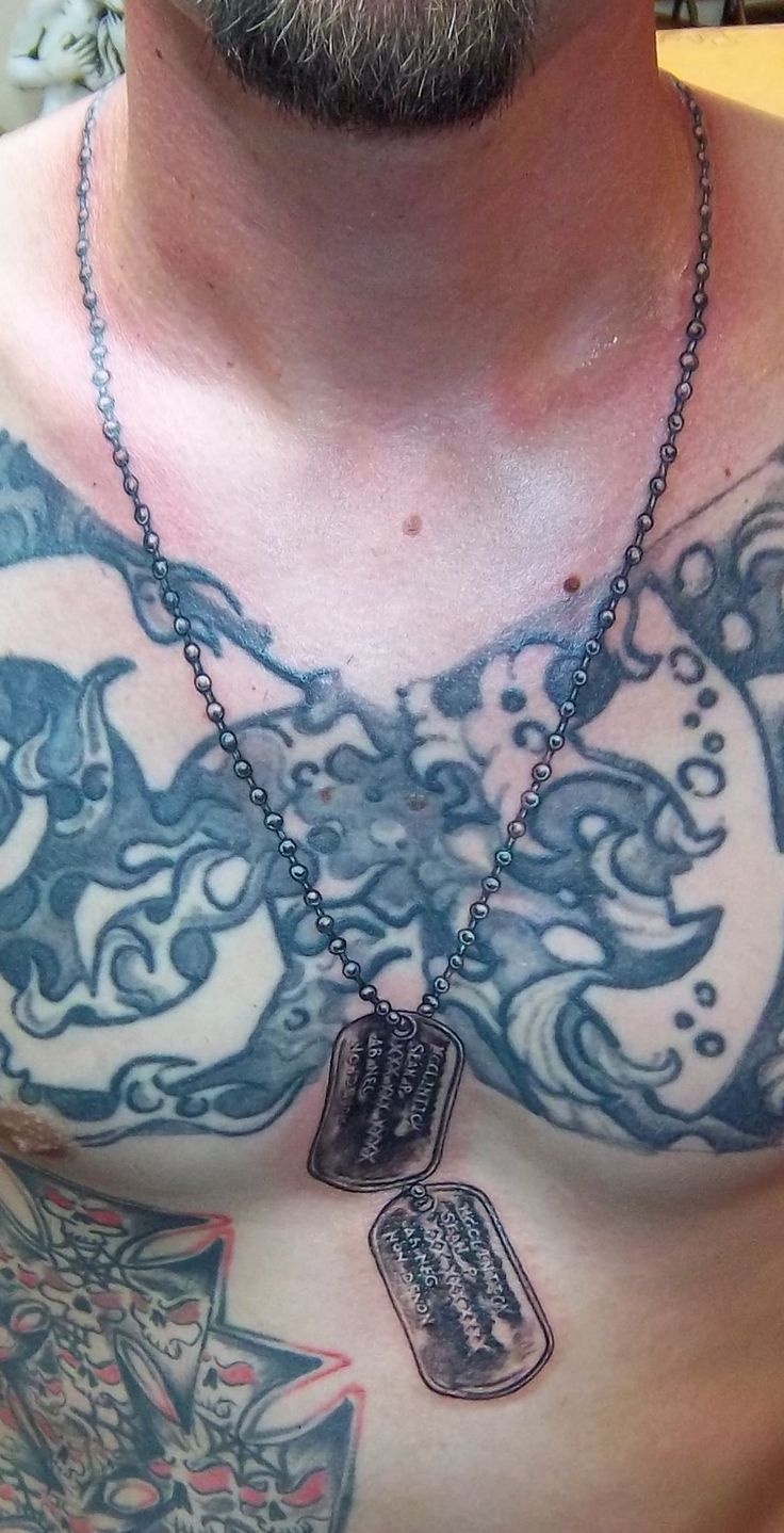 1000+ ideas about Dog Tags Tattoo on Pinterest | Tattoos ...