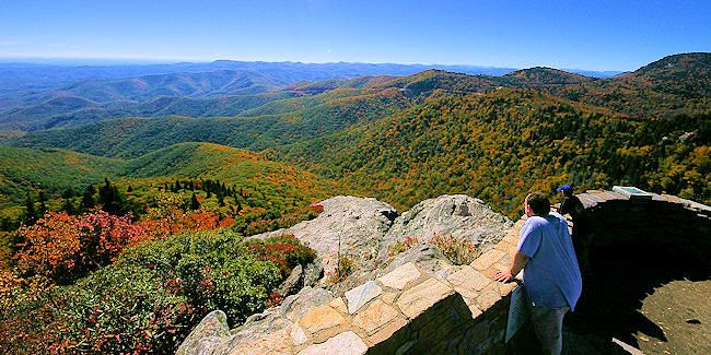 Devils Courthouse -Top 15 Asheville North Carolina Best Mountain Views