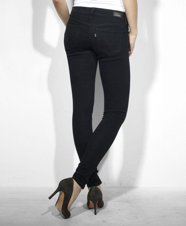 Black As Night: Levi's 535™ Leggings - Black As Night - Leggings
