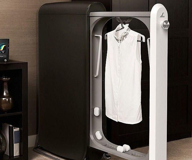 Keep garments looking downright spiffy in between cleanings with the dry cleaning clothes machine. This revolutionary machine will cut your dry cleaning bill in half by refreshing all your dry-clean-only clothes without having to use an actual dry cleaning service.
