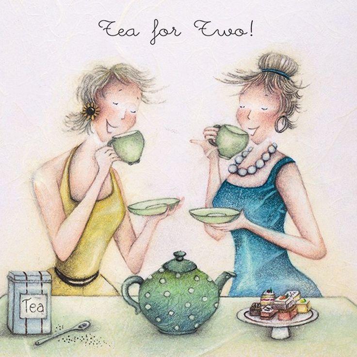 фотоизображения картинки подружки пьют чай все