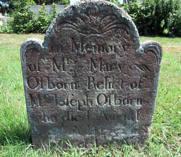 Mary Hedges Osborn South End Cemetery East Hampton
