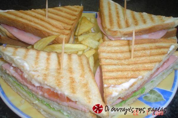 Club sandwich #sintagespareas