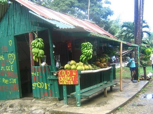 road side fruit run Tobago  #60days #tobago