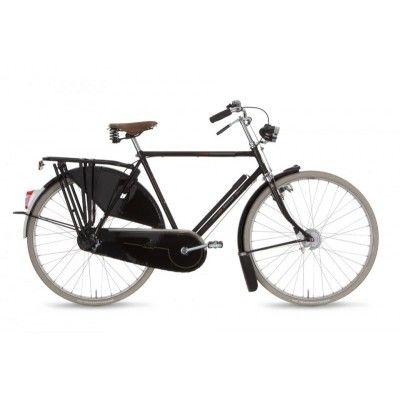 Gazelle Toer Populair T3. Czarny kolor, klasyczny styl, idealny dla kogoś kto lubi prostotę! http://damelo.pl/rowery-miejskie-dla-twojego-mezczyzny/184-rower-miejski-meski-gazelle-toer-populair-t3.html