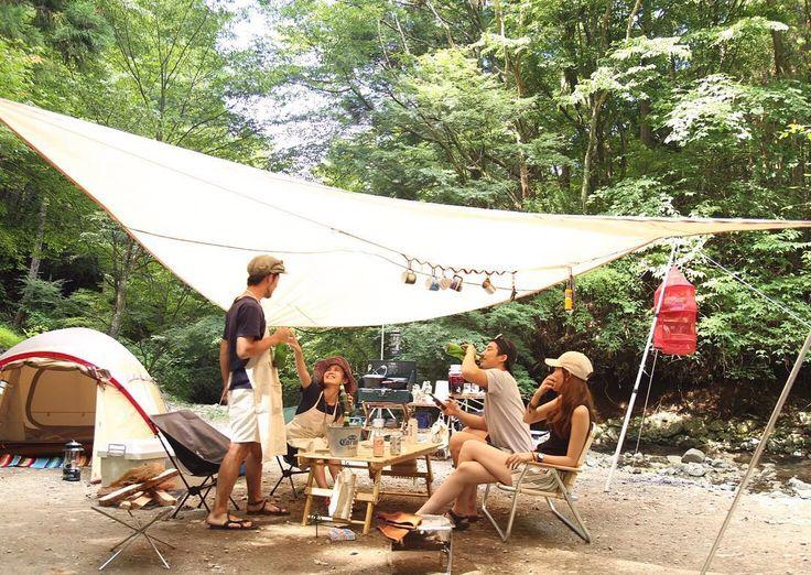 おしゃれキャンパー / instagram / photogenic camp