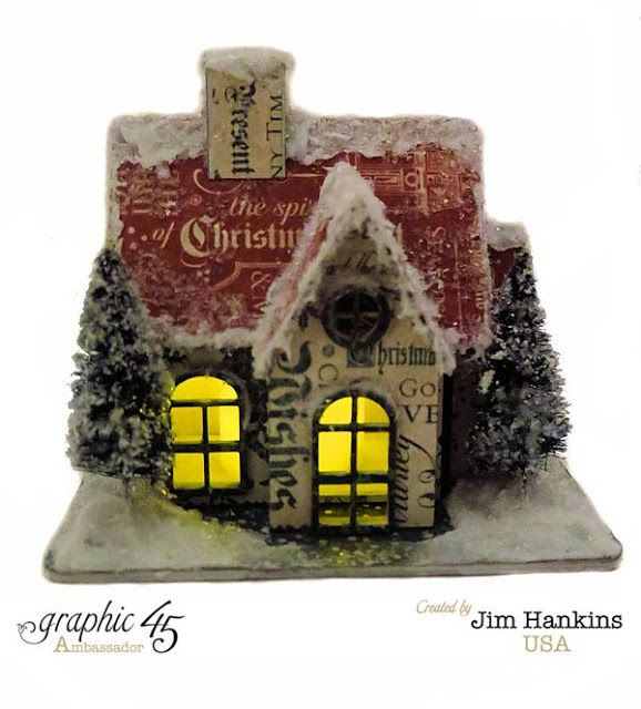 Image Result For Christmas Carol Tiny Tim Puppet: 1000+ Images About Tim Holtz Houses On Pinterest