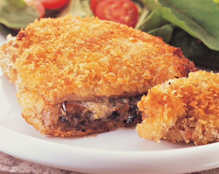 Cheese and Mushroom Stuffed Beef Schnitzels Recipe | beef   lamb new zealand inc