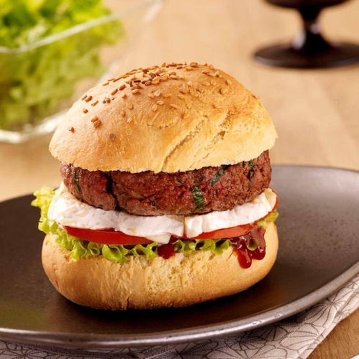 Burger au Chaource