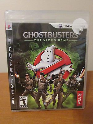 RARE Ghostbusters: The Video Game Black Label Sony PlayStation 3 PS3 NEW/Sealed