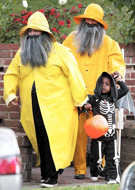 Sandra Bullock, Melissa McCarthy Wear Fishermen Halloween Costumes - Us Weekly @Nikki Champagne