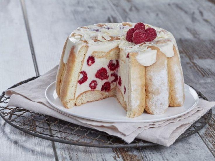 chocolat, biscuits à la cuillère, fromage blanc, framboise, crème liquide, gélatine