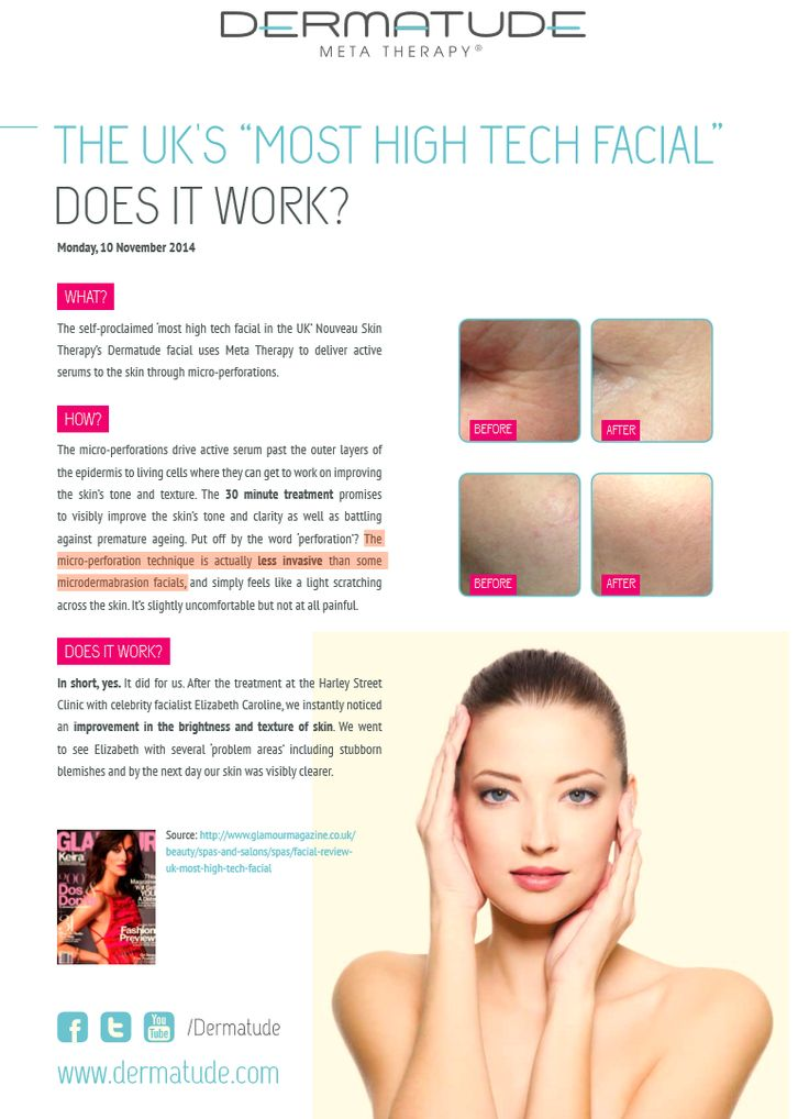 See the first-hand results of Dermatude MetaTherapy treatment.