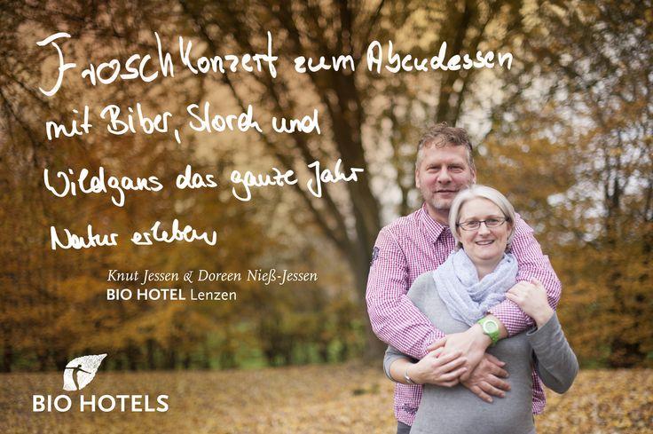 Kurt Jessen & Doreen Nieß-Jessen, Ihre Gastgeber im BioHotel Burg Lenzen *** superior #biohotel in Lenzen/Elbe, #Brandenburg, #Deutschland