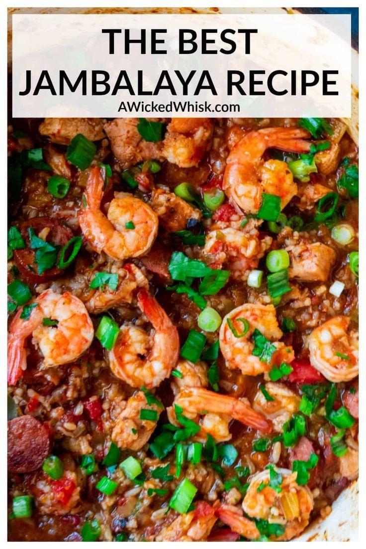 Jambalaya Recipe In 2020 With Images Jambalaya Recipe Recipes Best Jambalaya Recipe